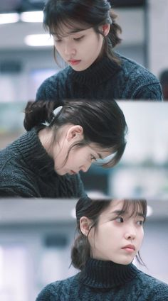 IU #MyAjussi #MyMister #tvN #2018Kdrama Korean Actresses, Korean Actors, Girl Photo Poses, Girl Photos, Korean Picture, Pretty Men, Korean Celebrities, Girls Sweaters, Korean Beauty