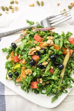 Summer Superfood Kale Salad | vitamin sunshine