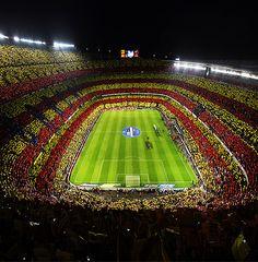 Увидеть игру Барселоны на Камп Ноу