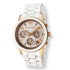 Meeting elegance with class, this Michael Kors Runway bracelet watch is fashion at its finest.