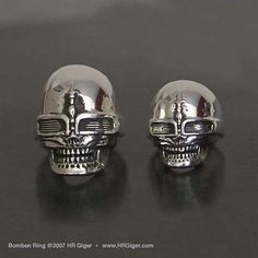 Bomben Skull Ring