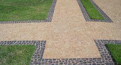 Vendas de Pedra Portuguesa e locação de caçamba em Campinas