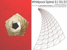 "Inkscape Tutorial by Sara Adams: Drawing Origami Crease Patterns for Whirlpool Spirals. For use with Tomoko Fuse's book ""Spiral: Origami 