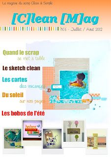 [C]lean [M]ag: Publications in french about scrapbooking