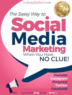 Learn how to create a following with Social Media Marketing. This little book will get you started on Youtube (including many monetization options), Instagram, Pinterest, Twitter and Facebook. #4 in the Beginner Internet Marketing series by SassyZenGirl Publishing