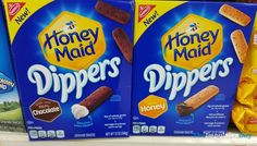 SPOTTED ON SHELVES: Honey Maid Dippers Graham Snacks (Chocolate and Honey)