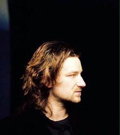 U2's Bono, circa 1980's