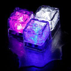 LED Ice Cubes (Set Of 4)