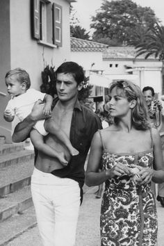 Alain Delon. See 37 other hot celebrity dads with their adorable kids.