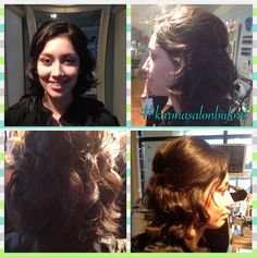 #karmasalonbuford #updo #curls