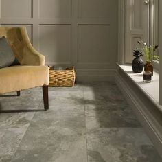 Florence Wall & Floor Tile Dovestone - 498 x 498mm - 4 pack