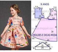 Patrones gratis de vetidos elegantes para niñas04