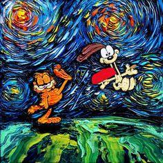 Starry Night - Quand Van Gogh rencontre la Pop Culture