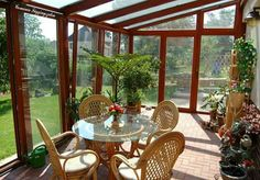 Outdoor Furniture Sets, Outdoor Decor, Conservatory, Oahu, Sunroom, Exterior Design, Pergola, Sweet Home, New Homes