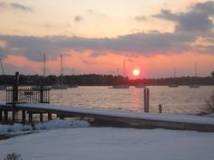 Snow in Beaufort NC- We had cold winters with snow in 2010 & 2011.