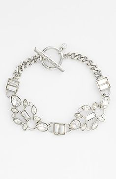 Givenchy Crystal Cluster Toggle Bracelet available at #Nordstrom