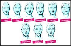 Corte de cabelo e o formato do rosto Por Stela Ramos
