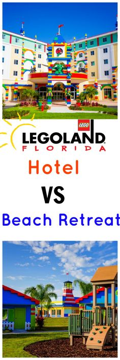 Legoland Florida Hotel VS Legoland Beach Retreat: Which Resort is Right for Your Family