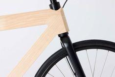 Designer-Fahrrad aus Holz und Kohlenstoff von Gary Galego
