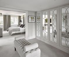 Traditionally crafted wardrobe designs blended with luxury modern style and The Heritage Wardrobe Company go hand in hand as their designers work with you to understand your storage needs Bedroom Closet Design, Home Bedroom, Bedroom Decor, Bedroom Designs, Master Bedroom, Dream Home Design, Home Interior Design, Dressing Room Design, Dressing Room Closet
