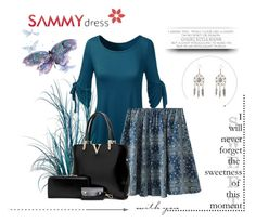 """""""Sammydress 16."""" by marinadusanic ❤ liked on Polyvore featuring women's clothing, women's fashion, women, female, woman, misses and juniors"""