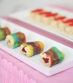 Candy sushi  . . so easy