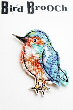 kingfisher brooch £15.00