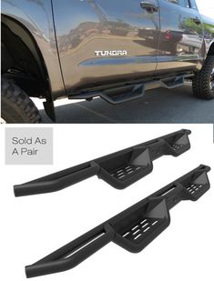 Check out our unique and rugged X-Magnum running boards for the Toyota Tundra. #toyotatundra #toyotatundrarunningboards #toyotatundraaccessories