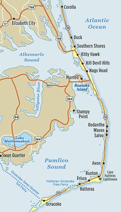The Truth About Outer Banks Vacations: Where to Stay?a local's perspective. we stayed on hatteras in 2007 and it was the best vaca ever. rented a house with all our family. Outer Banks North Carolina, Outer Banks Nc, Outer Banks Vacation, Corolla Outer Banks, Vacation Checklist, Vacation Packing, Vacation Ideas, Vacation Rentals, Packing Tips