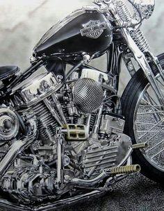 Panhead Harley Davidson