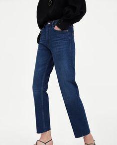 Bilde 2 fra JEANS NEW STRAIGHT PURE BLUE fra Zara