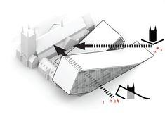 Musée National des Beaux Arts du Québec proposal / BIG + Fugère Architectes