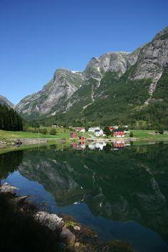Balestrand, county of Sogn og Fjordane   Norway