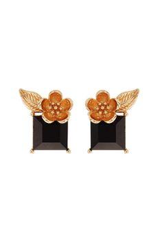Flowers & Stones Earrings