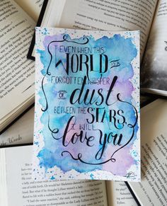 Items similar to Empire of Storms by Sarah J Maas Quote Watercolour Typography on Etsy Calligraphy Quotes Doodles, Doodle Quotes, Hand Lettering Quotes, Watercolor Typography, Watercolor Quote, Empire Of Storms, Bullet Journal Quotes, Bullet Journal Ideas Pages, Throne Of Glass Quotes