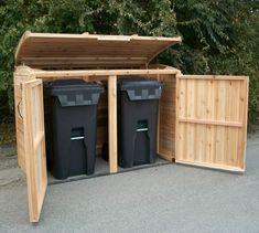 Die 10 Besten Bilder Von Mulltonnenbox Selber Bauen Backyard Patio