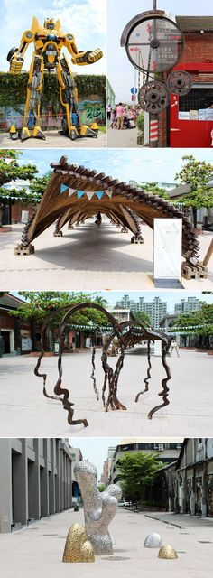 {ALL ABOUT TAIWAN} THE PIER-2 ART CENTER, KAOHSIUNG TAIWAN–PART I