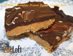 No Bake Chocolate Peanut Butter Bars are simple to make. They're crunchy on the bottom, creamy on top with the great taste of peanut butter and chocolate in every bite, they're a little bite of heavenly perfection.