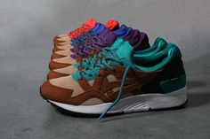 Concepts and ASICS Play Mix and Match With the GEL Lyte V
