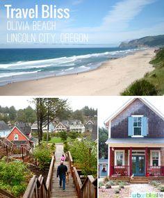 Travel to the Oregon Coast: Olivia Beach Vacation Rentals #OregonCoast #TravelOregon