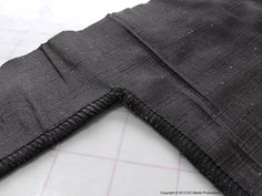 Serging Inward Corners.  Finishing our sewing projects (our edges) on a serger / overlocker is an almost guaranteed way to achieve a clean and professional look.  See how it's done in this easy to follow instructional article, only at http://www.fashionsewingblog.com