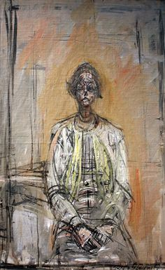 Alberto Giacometti- Portrait of Annette, Alberto Giacometti, Giacometti Paintings, Figure Painting, Painting & Drawing, Art Graphique, Life Drawing, Portrait Art, Oeuvre D'art, Figurative Art