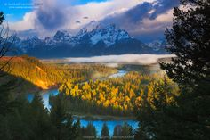 Grand Teton and Snake river  To be standing where the great Ansel Adams stood, and to see what he saw...
