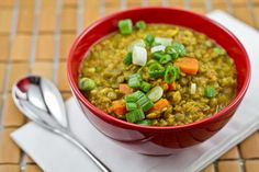 Curried Lentil Soup — Excellent recipe.  The kids loved it too.