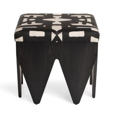 Zig-Zag Ottoman Handcrafted in the USA configured as shown Bench Furniture, Plywood Furniture, Luxury Furniture, Furniture Design, Outdoor Furniture, Round Ottoman, Ottoman Bench, Bradley Wood, African Interior Design