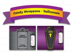 Printable Digital PDF File  Chocolate Candy by clipartsuperstore, $2.99