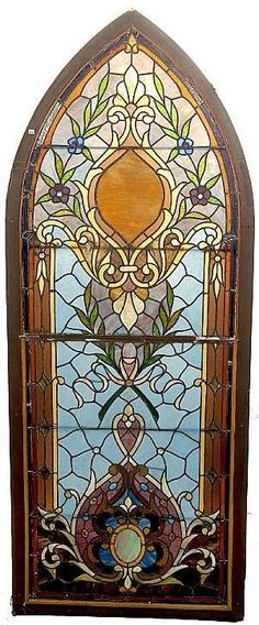Beautiful stained glass windows. This is the one that I love the most! This is the one I will use to design the window at the bottom of my stairway