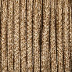 Câble électrique Textile Rond De Couleur Tissu à Motifs   EXO ATELIER Fil  électrique Tissu Pour
