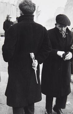 "yama-bato: ""  Paris New Year (Young Man with Tulip), 1949 © Robert Frank LINK """
