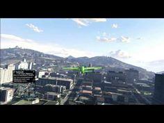 GTA 5 Online - Flying upside down